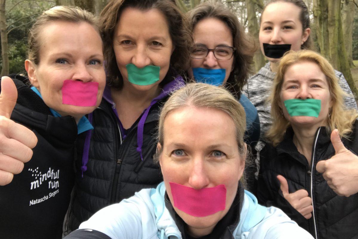 Mindful Run cursisten Park Clingendael praktijk Puur & Krachtig Den Haag - Wassenaar massage, beweging en bewustwording