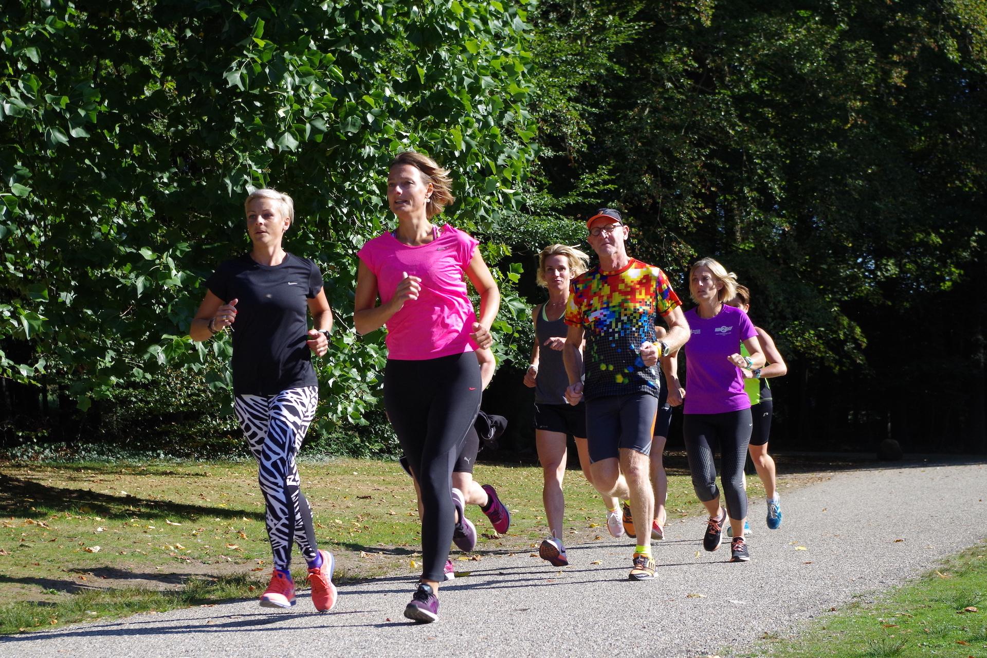 Mindful Run cursus Park Clingendael praktijk Puur & Krachtig Den Haag - Wassenaar massage, beweging en bewustwording
