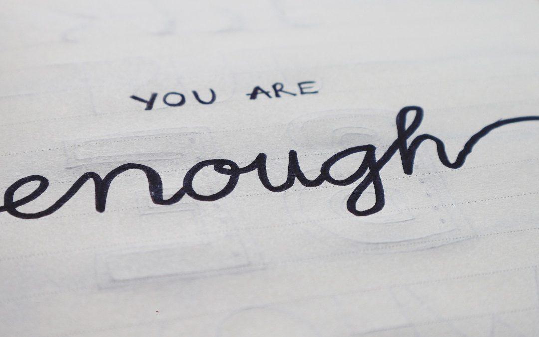 je bent goed genoeg, blog puur en krachtig perfectionisme